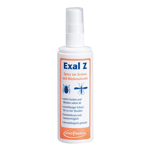 Zecken- und Mückenabwehrspray, Exal Z