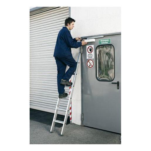 Zarges Stufen-Anlegeleiter Z500, gebördelt