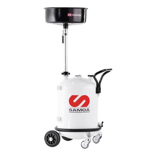 Profi-Altölauffangwagen mit Druckluftentleerung