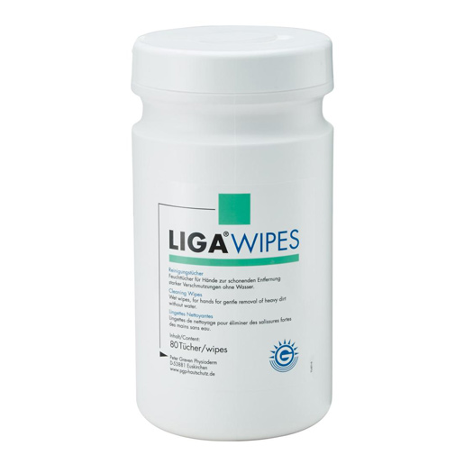 Reinigungstuch LIGA WIPES,Dose/80 Tücher