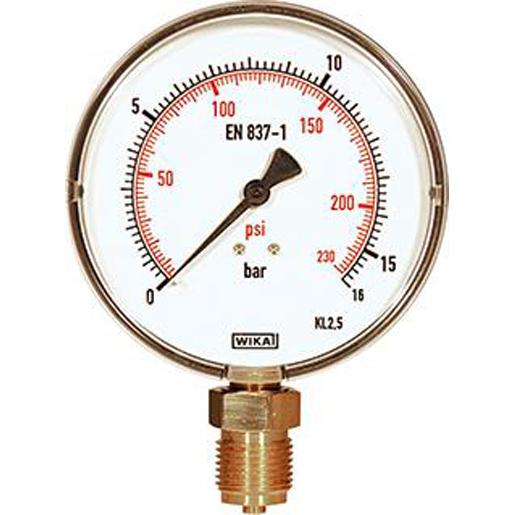 Manometer für Prüfpumpe Control