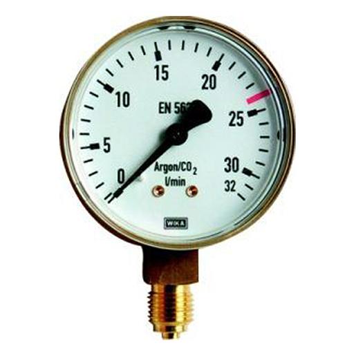 Manometer Sauerstoff 0-16 bar