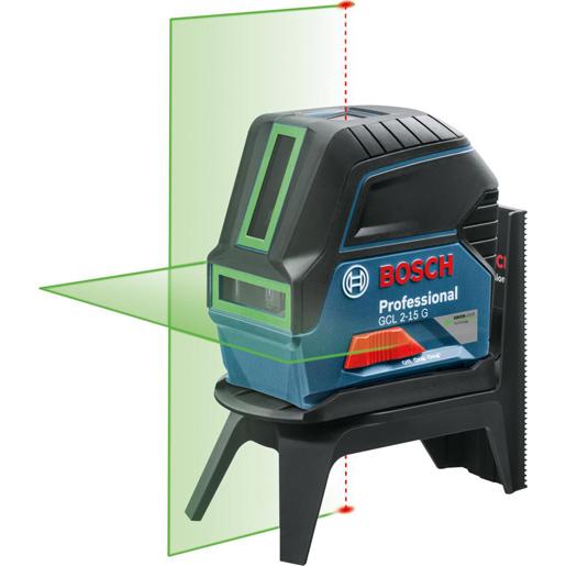 Kombi-Laser GCL 2-15 G, grün, +BT150+RM1